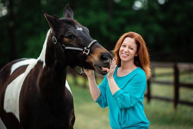 horse photo session