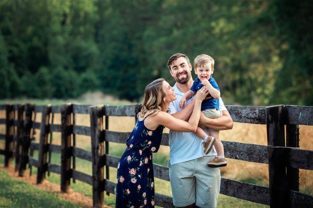 lovely family photo shoot at sugg farm park