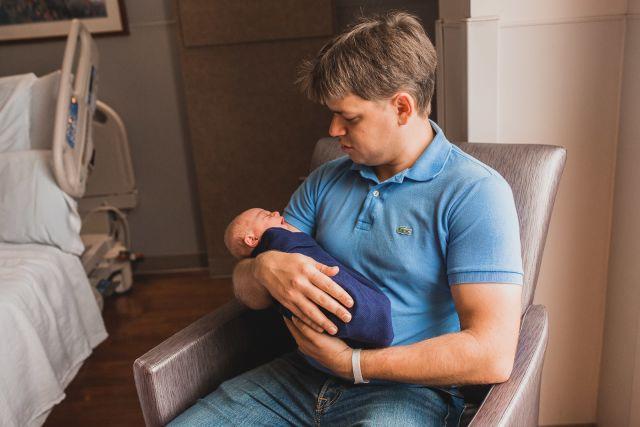 rex women's center newborn photography