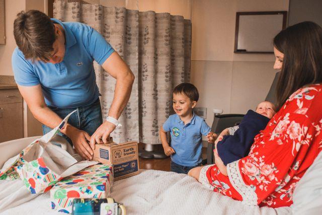 in-hospital newborn session rex women's center