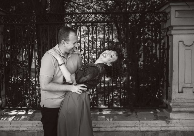 engagement photo session in raleigh