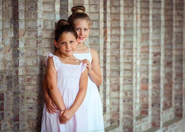 sister portrait session durham photographer