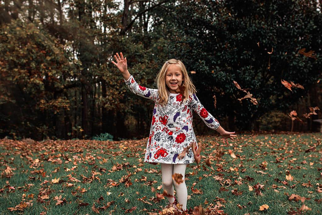 fall mini session in Sears Farm Park