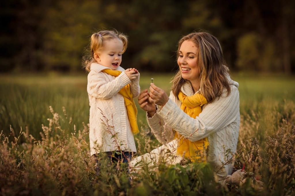 fall mini session in Raleigh