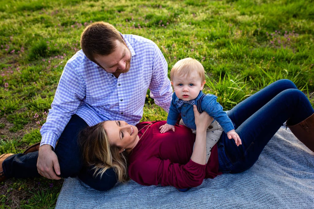 golden hour family photo session raleigh best places to take pictures