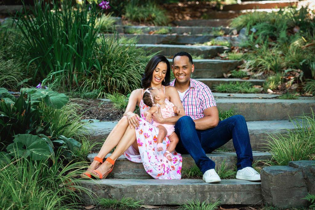family portrait photography sarah duke gardens durham nc