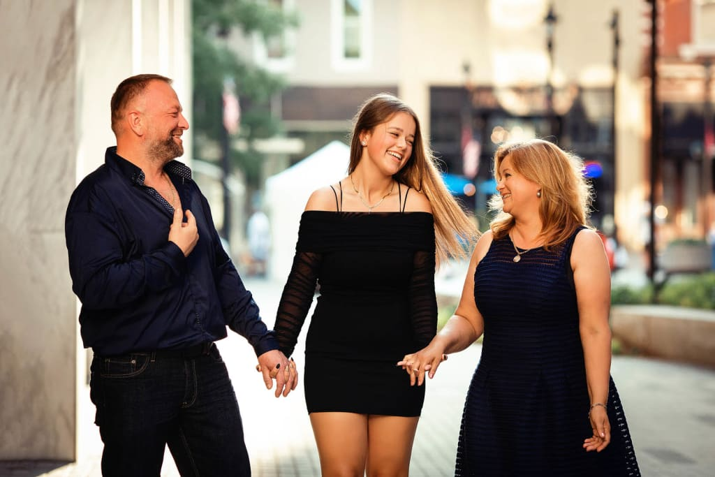 sweet 16 photo shoot downtown raleigh