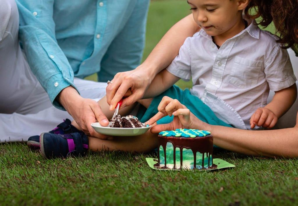 cake smash photography raleigh