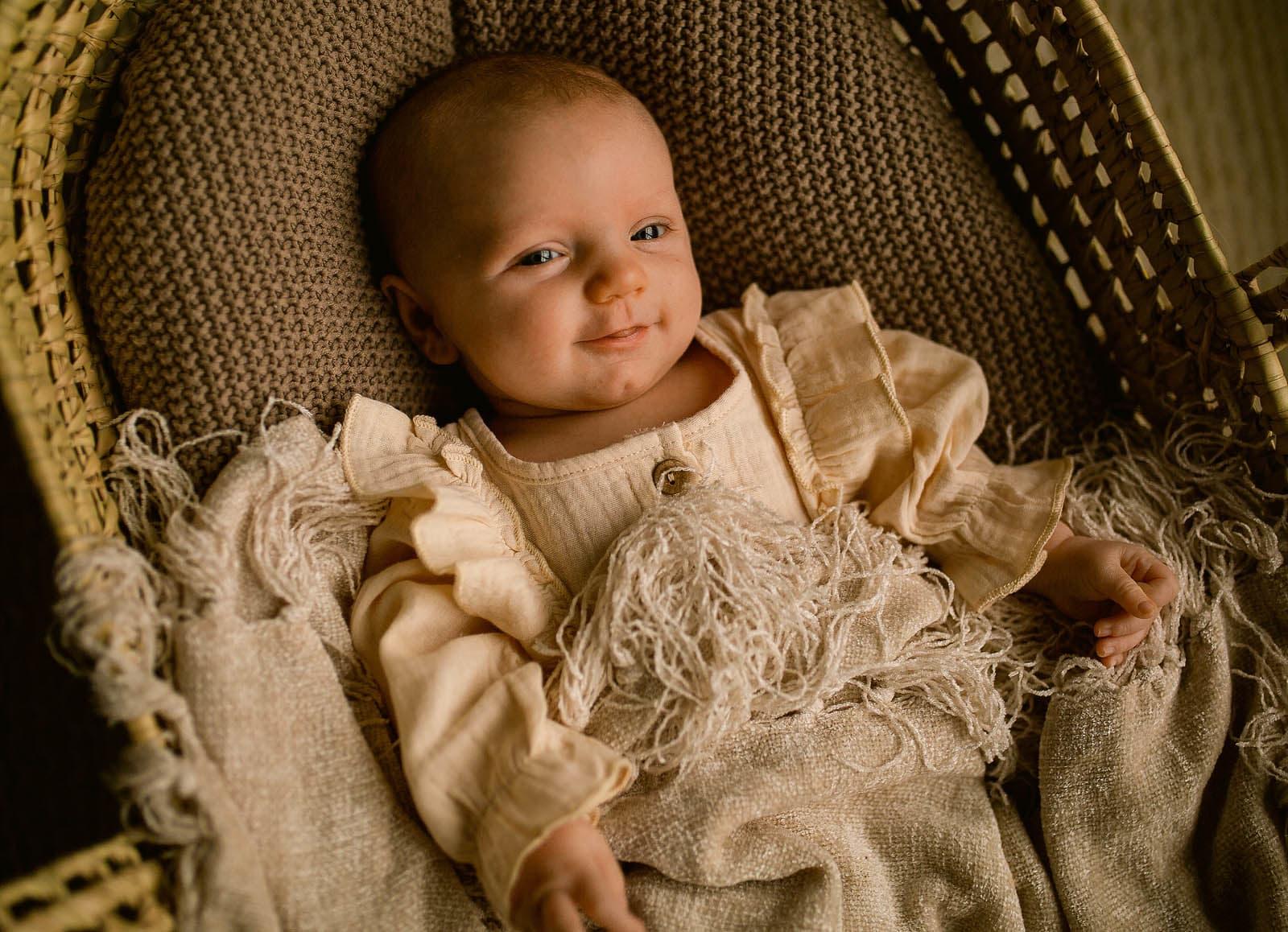 newborn photo session in studio raleigh newborn photographer