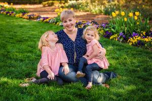 AZALEA GARDEN SPRING MINIS raleigh family photographer