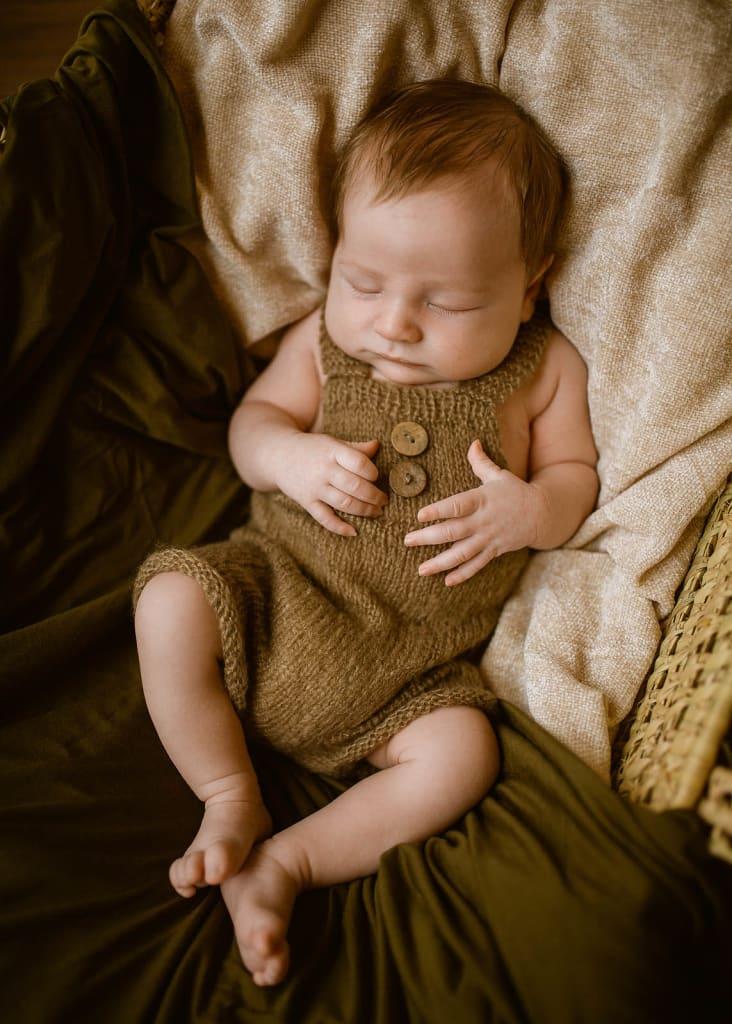 raleigh newborn studio portraits