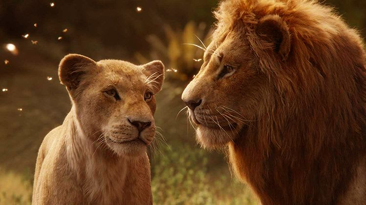 Mufasa and Simba The Lion King 2019 Hakuna Matata - It means no worries for the rest of your day