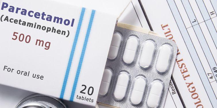 Paracetamol painkillers