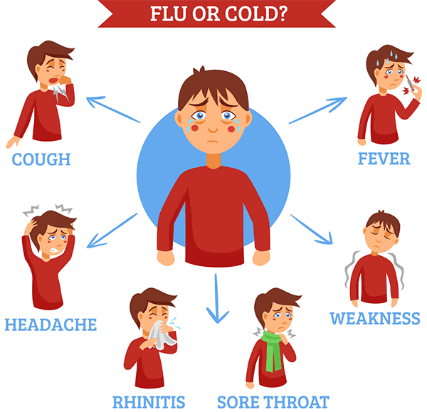 Do Not Try To Equate And Confuse Flu And Cold