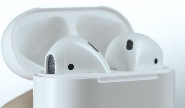 Apple AirPods as they are now.