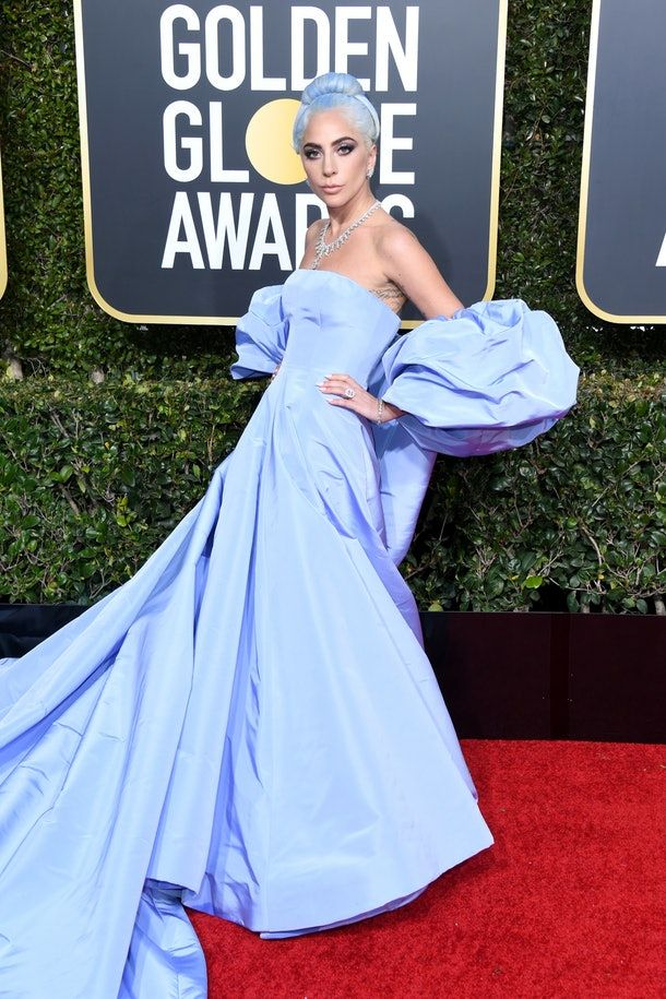 Lady Gaga This look really kicked off the icy blue hair trend for the year