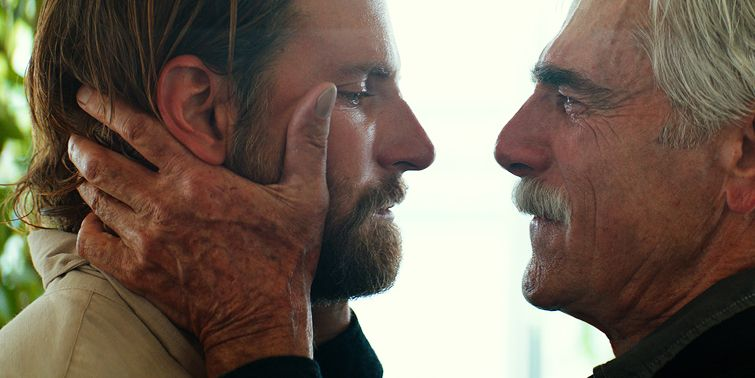 A Star Is Born Sam Elliott Bradley Cooper