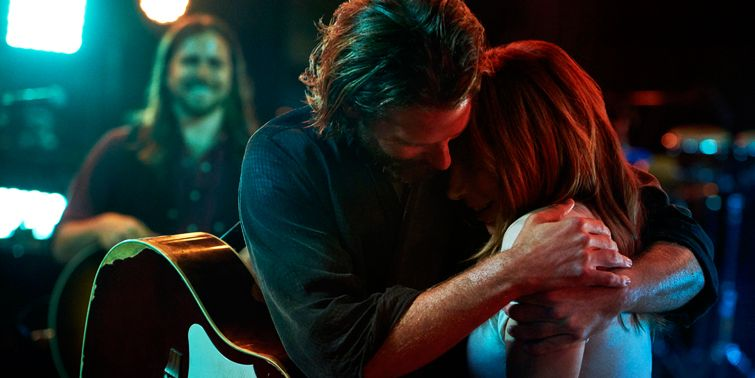 Lady Gaga and Bradley Cooper A Star Is Born 2018