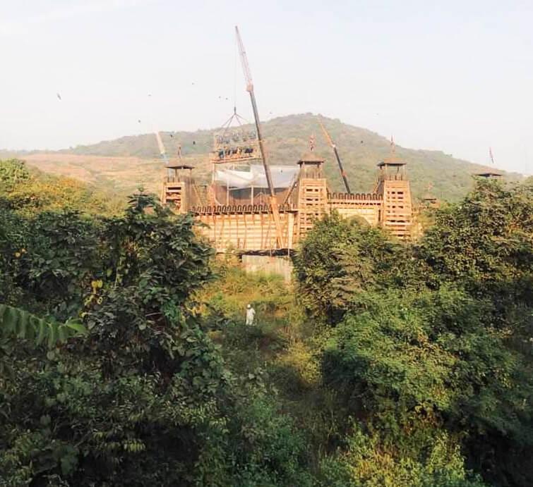 Yash Raj Films Ranbir Kapoor And Sanjay Dutt's EXPENSIVE Shamshera Fortress-2