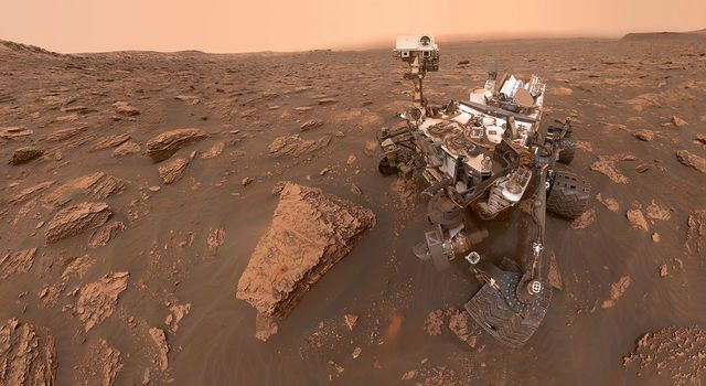 NASA Opportunity Rover Mission on Mars ceases.