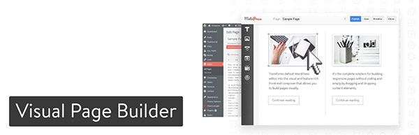 visual page builder wordpress