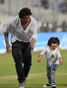 Watch Shah Rukh Khan and son AbRam Khan race post Kolkata Knight Riders loss-at Eden Gardens