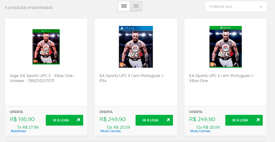 Os melhores preços EA Sports UFC 3