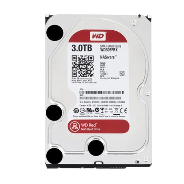 Hdd Western Digital 3tb Wd Red Nas Para Servidor 24 / 7 Sata Iii 6.0gb / S Wd30efrx 64mb Intellipower