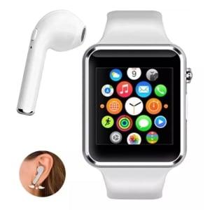 Relógio Original Smartwatch A1 Branco com Bluetooth