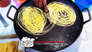 Dinner Event for a Birthday Party Roti Jala