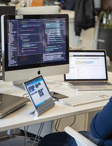 technologie développement code mac ordinateur