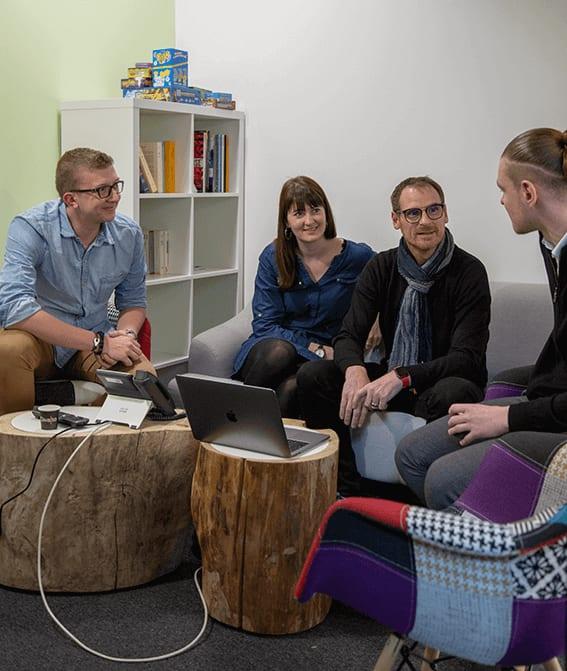 réunions meeting équipe business partenaires