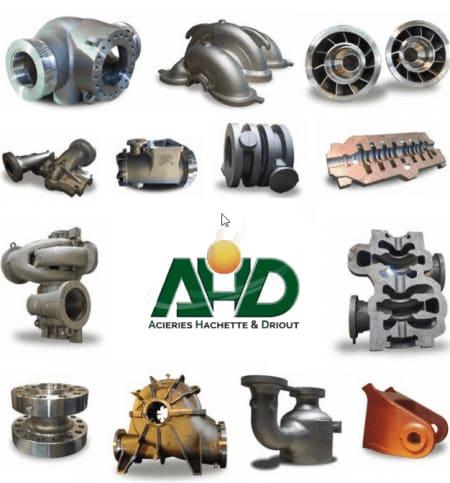 AHD - Acieries Hachette et Driout, fonderie acier et inox