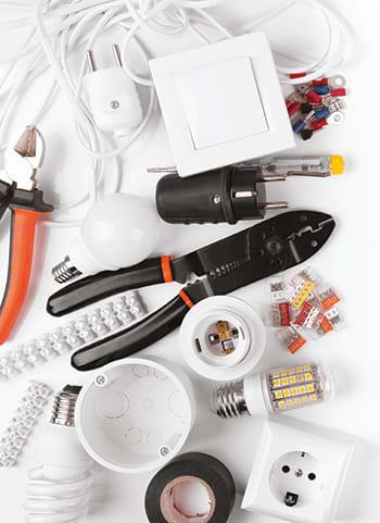 Photo de fournitures électriques