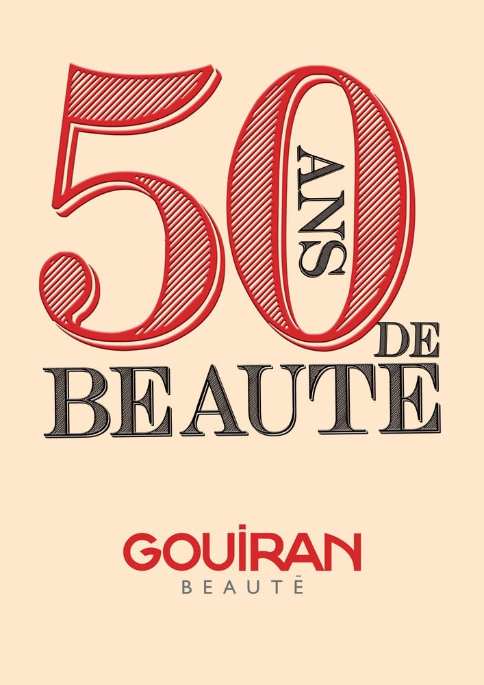 50 ans de beauté avec Gouiran