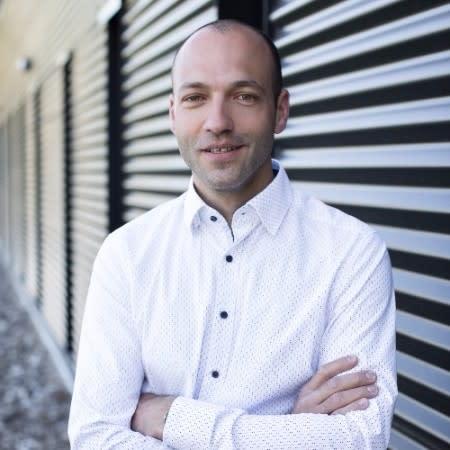 Photo de Jérémy Grégoire, responsable à Divalto