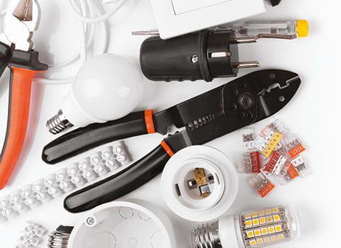 fournitures électriques pince