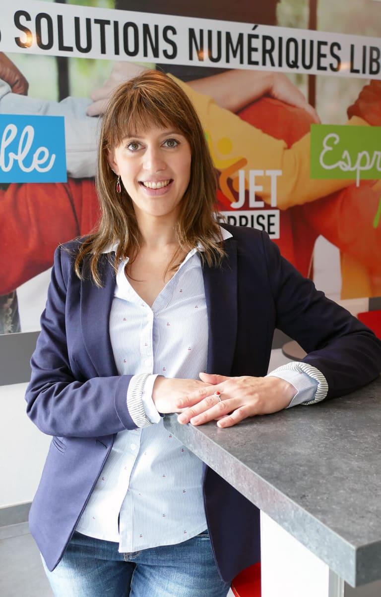 Portrait de Laetitia PEREIRA, déléguée à la protection des données (DPO) chez Divalto