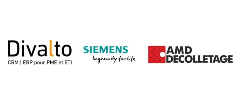 Divalto, Siemens, et AMD Décolletage