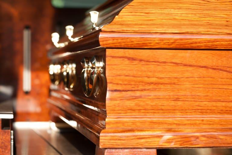 photo d'un cercueil