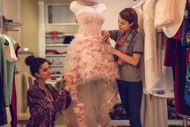 professionnels de la mode, haute couture