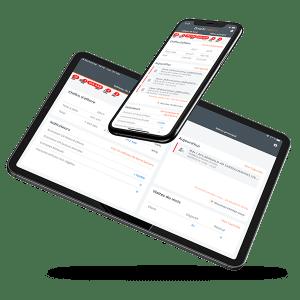 Application tablette et mobile CRM Divalto weavy