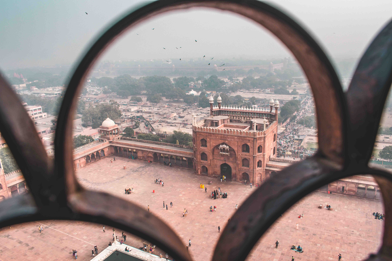 Red Fort & Old Delhi: Half Day Heritage Walking tour