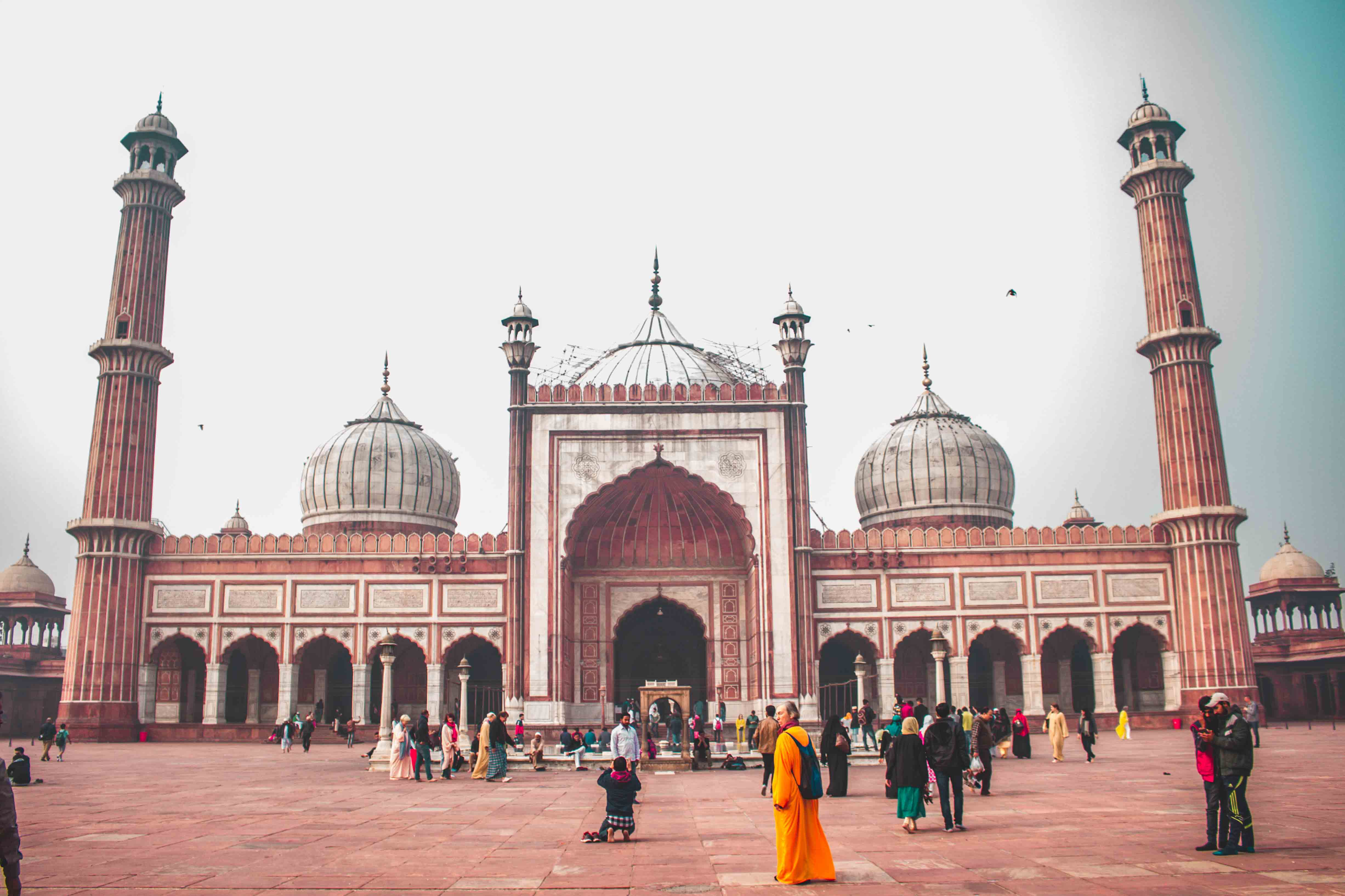 Old Delhi Rickshaw Ride and Guided Tour