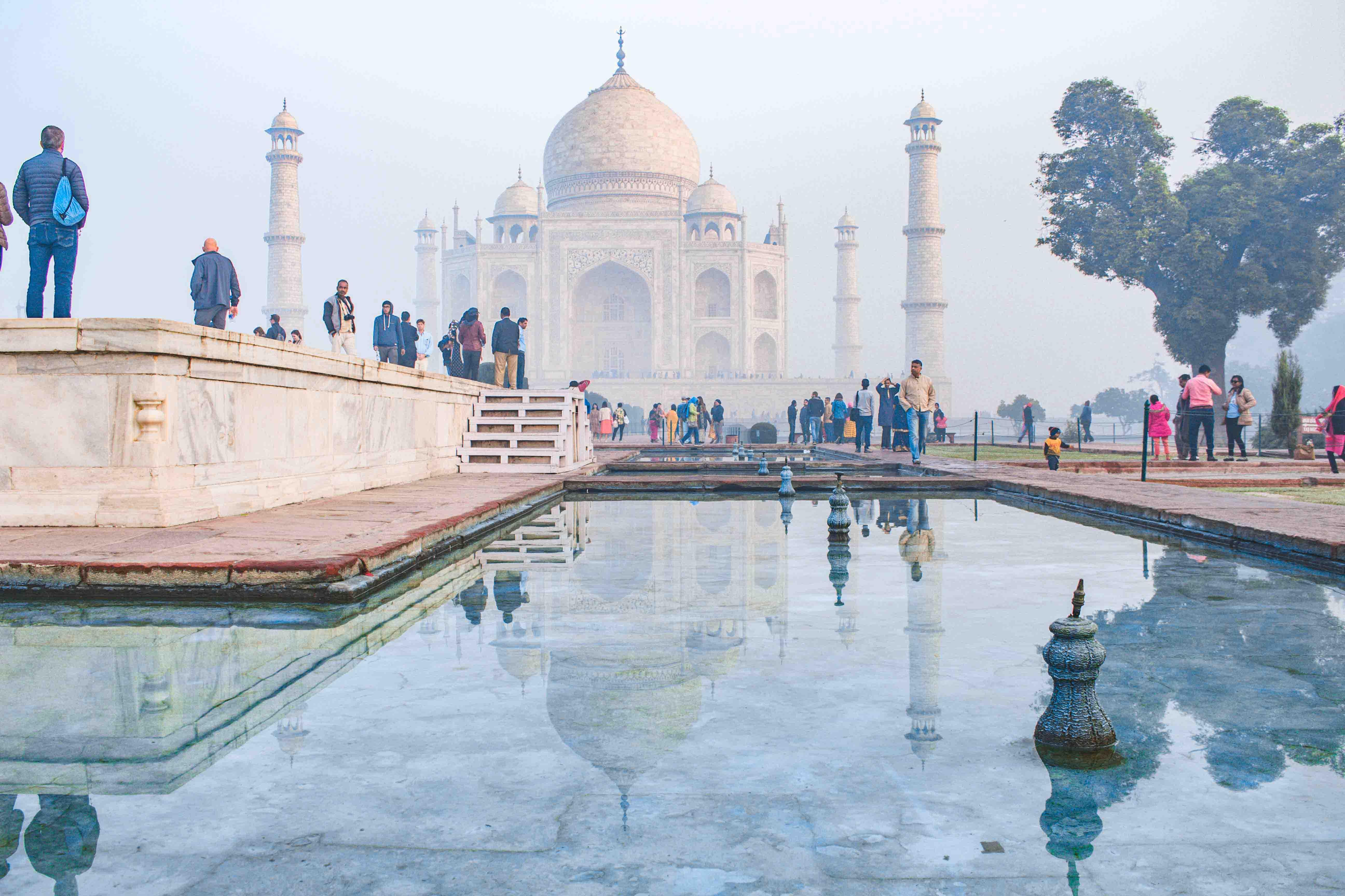 Agra: Sunrise Taj Mahal Tour Including Hotel Pick-up and drop-off