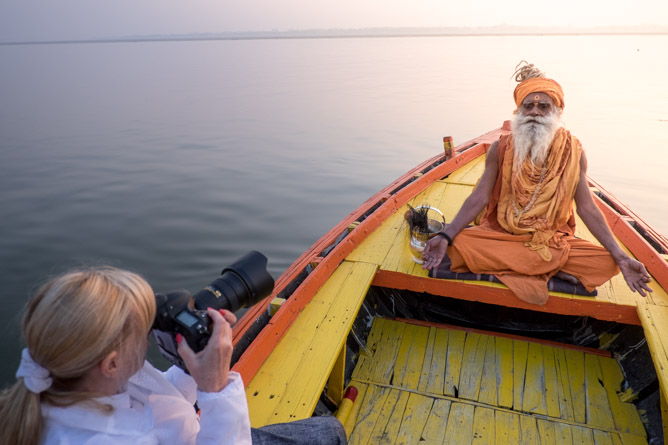 3-hour Varanasi Sunrise Boat Tour with Heritage Walk