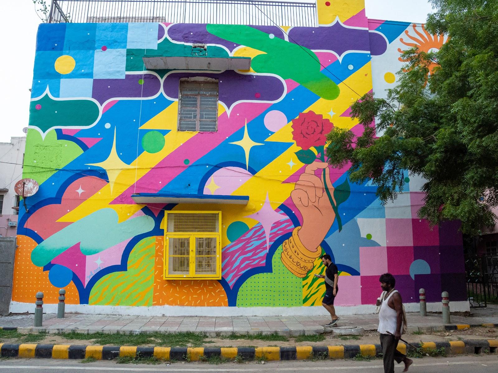 Mumbai: Dharavi Street Art Walking tour