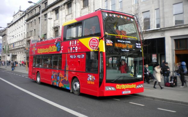 City Sightseeing Dublin: Hop-On, Hop-Off Tour with Guinness Storehouse Ticket
