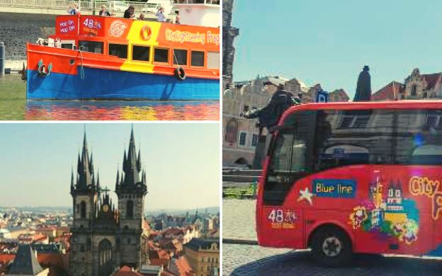 City Sightseeing Prague: Hop-On, Hop-Off Tour – Choose your Attraction