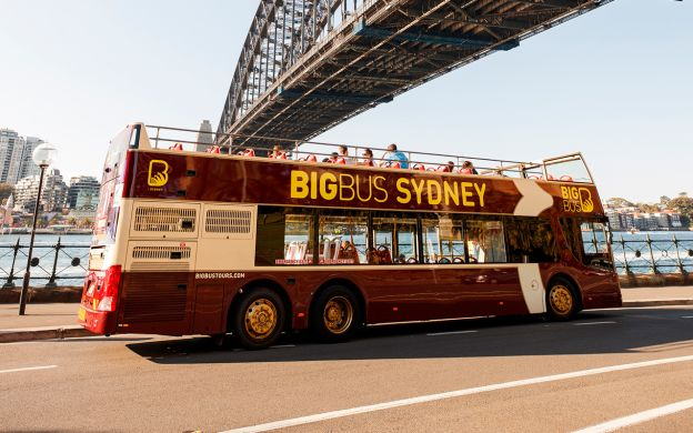 Big Bus Sydney: City Highlights Hop-On, Hop-Off Tour